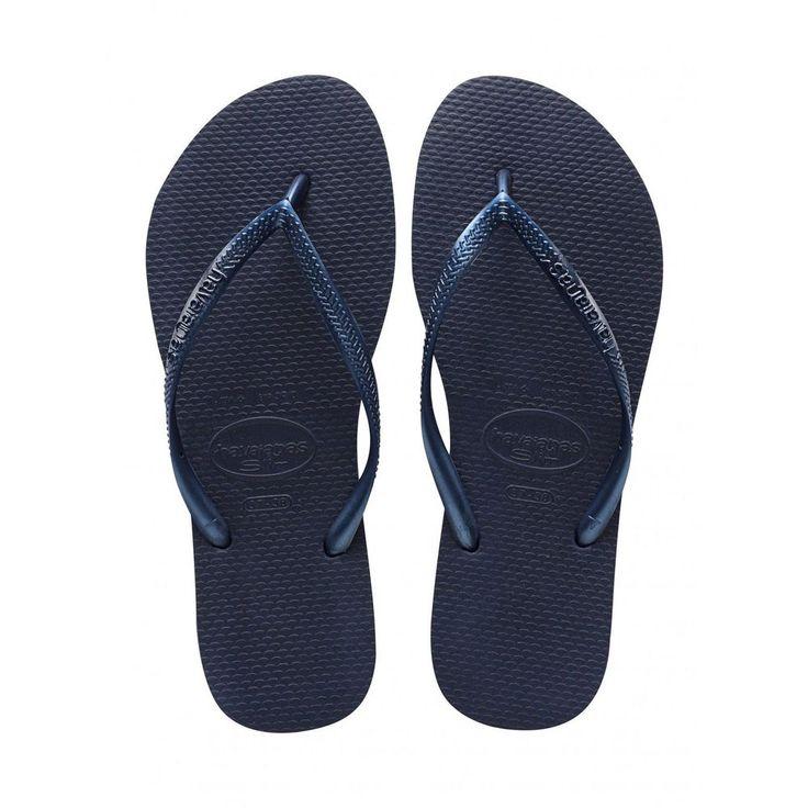 Havaianas Slim Ladies Flipflops - Navy Blue