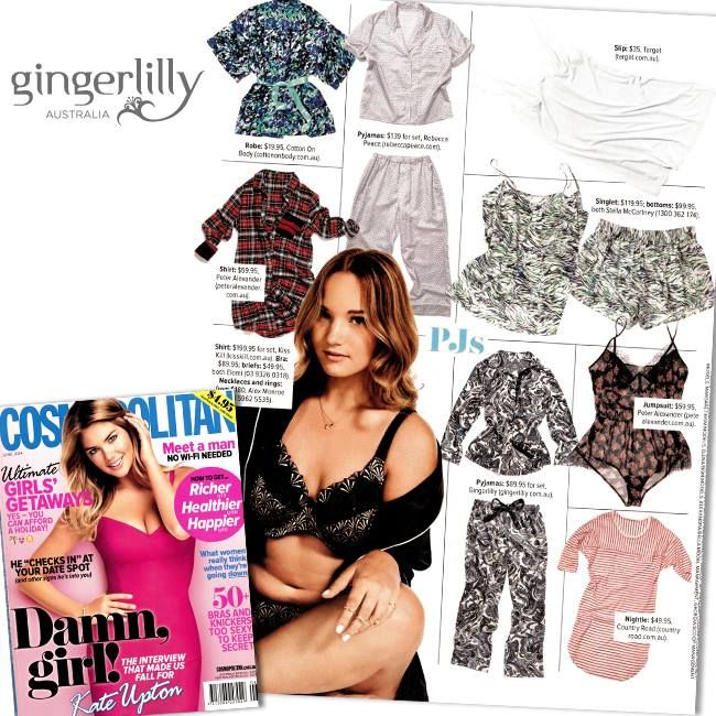 Cosmopolitan features Gingerlilly!