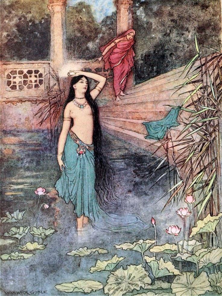 Warwick Goble, Folk-tales of Bengal: