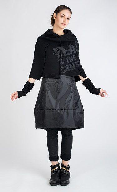 BERGELL - Knit poncho