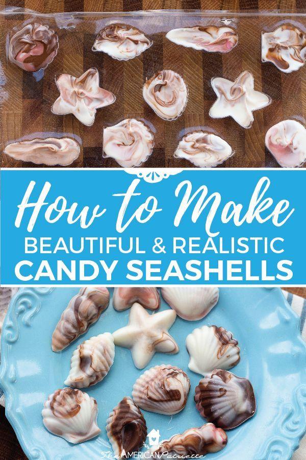 How To Make Candy Seashells Recipe Diy Baby Shower Ideas