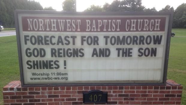 Church Signs of the Week: November 7, 2014 | The Exchange | A Blog by Ed Stetzer