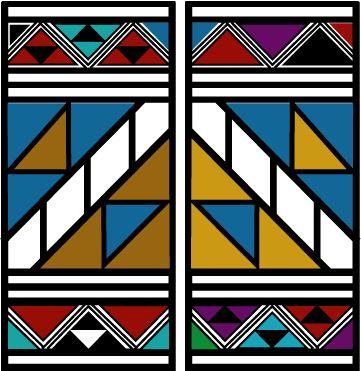 África na escola - Igualdade racial: Arte Africana: A Estética Ndebele