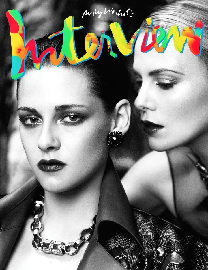 german interview in august 2012  gorgeous kristen stewart and charlize theron