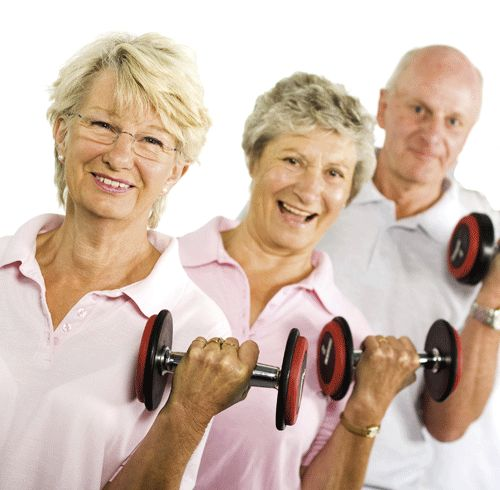 New report claims older people want to do more exercise