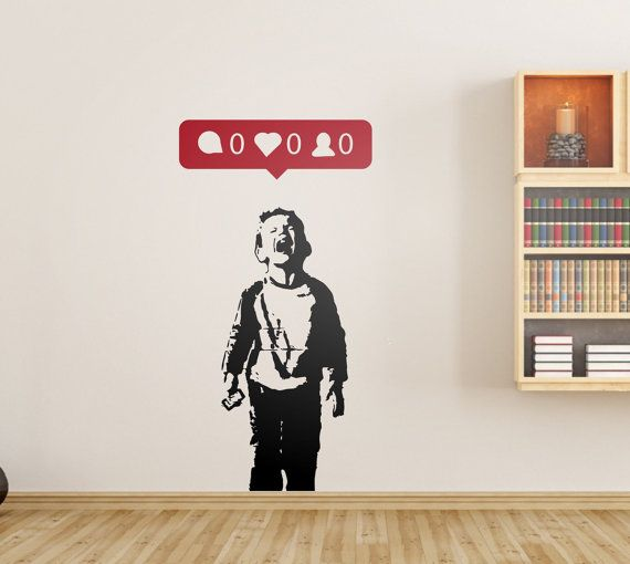 Sticker Wall Art best 25+ banksy wall stickers ideas on pinterest | hostel bristol
