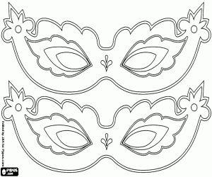 Antifaces Carnaval para decorar