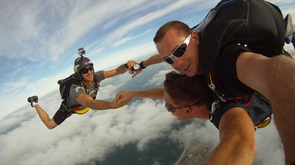 Skydiving at Jurien Bay. WOW! This is the best present you could ever buy anyone.