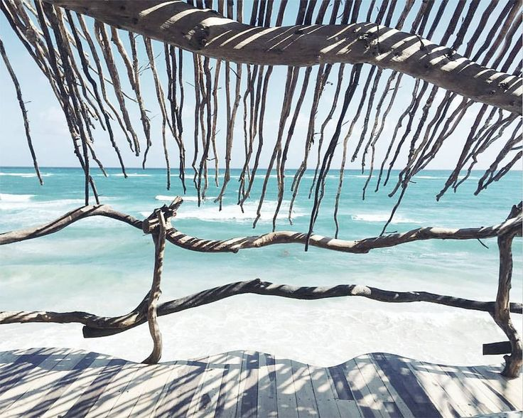 "899 Me gusta, 8 comentarios - HENDRIX & HARLOW - Official (@hendrixandharlow) en Instagram: ""This view! Azulik Hotel Tulum - Phototherealmarky.tumblr:) x #HHtravelinspo"""
