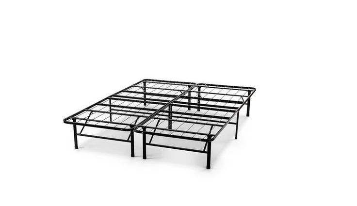 Platform Beds Metal Bed Frame Queen Size Sleep Master Black Free Shipping New #SleepMaster