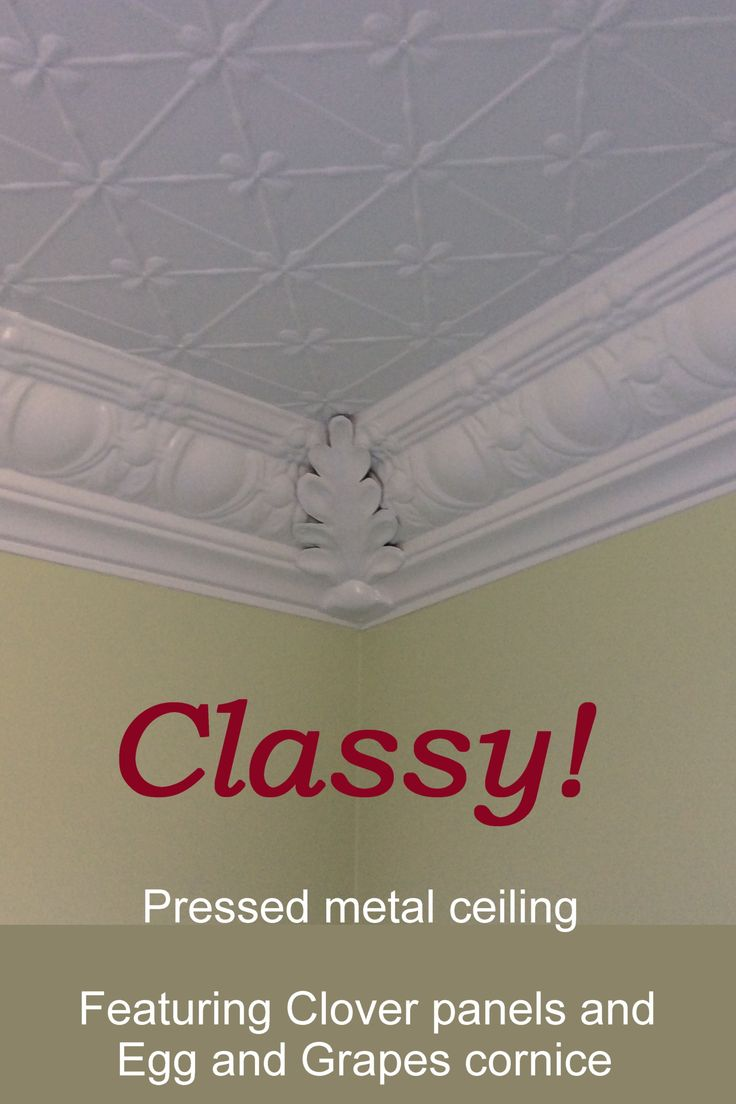 67 best sexy ceilings images on pinterest pressed metal au and this ceiling is made from the ever popular clover design pressed metal cornice frames the dailygadgetfo Choice Image