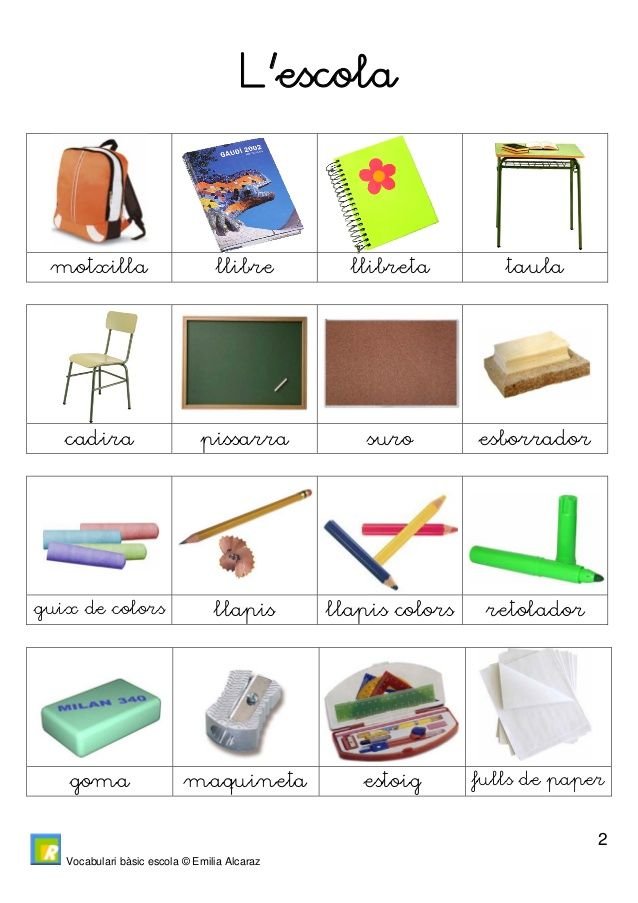 vocabulari catala primaria - Buscar con Google