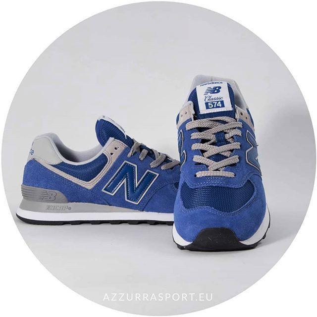 new balance 574 donna azzurra