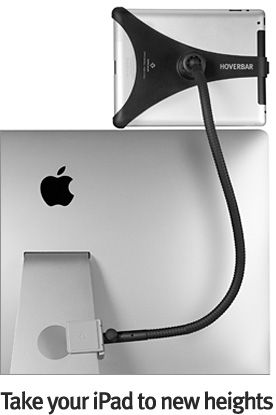 HoverBar clips your IPad to your computer to expand your utility.   Collaborate on a project with FaceTime, monitor the weather or interact with your favorite apps.