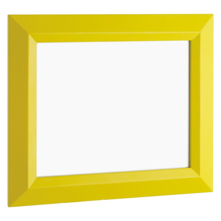 FRAME 20 x 25cm/ 8 x 10 yellow photo frame | Buy now at Habitat UK""