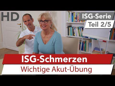 ISG-Syndrom // ISG-Schmerzen, Iliosakralgelenk Schmerzen - YouTube