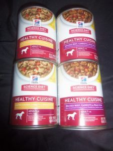 Hill's Science Diet Healthy Cuisine dog food