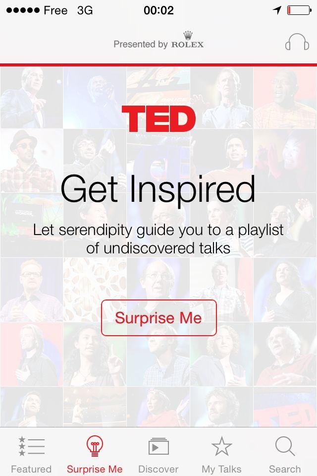 #inspire #emptystate #discover #serepindity #surpriseme