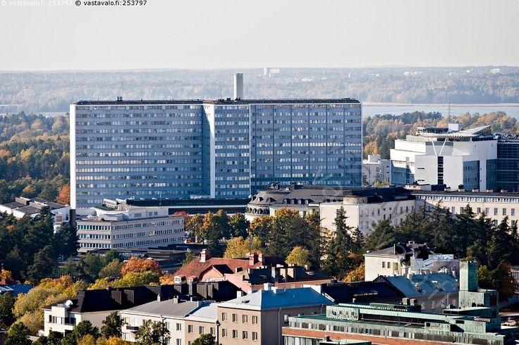 Meilahden sairaala   Meilahti Hospital, Helsinki, Finland   http://www.vastavalo.fi/talo-rakennus-huch-helsinki-meilahden-sairaala-253797.html    https://en.wikipedia.org/wiki/Meilahti_Hospital