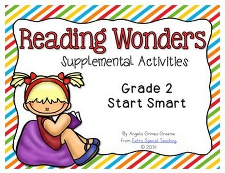 Reading Wonders Start Smart freebie for Grade 2
