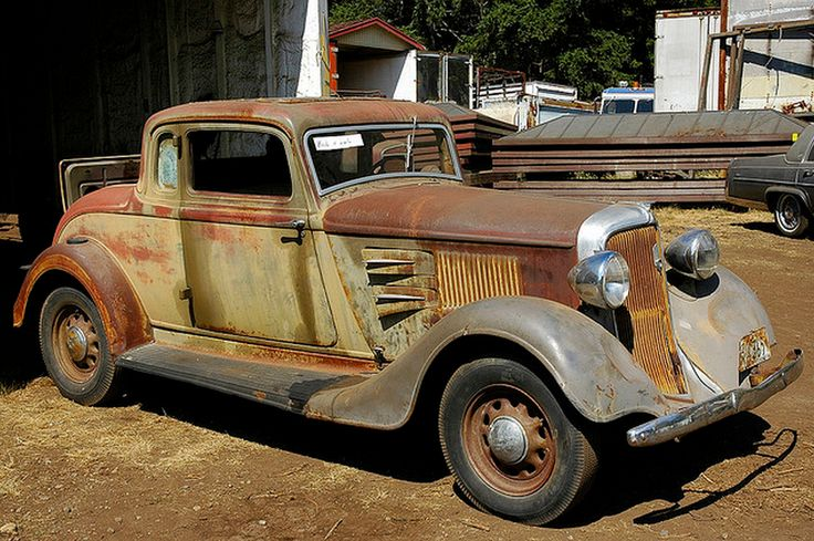 1934 Plymouth Coupe Project 1930s American Rides