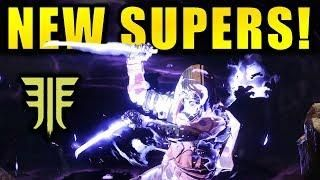 2377fa7d5bf Destiny 2  NEW SUPERS GAMEPLAY! - Exclusive Gambit Gameplay ...