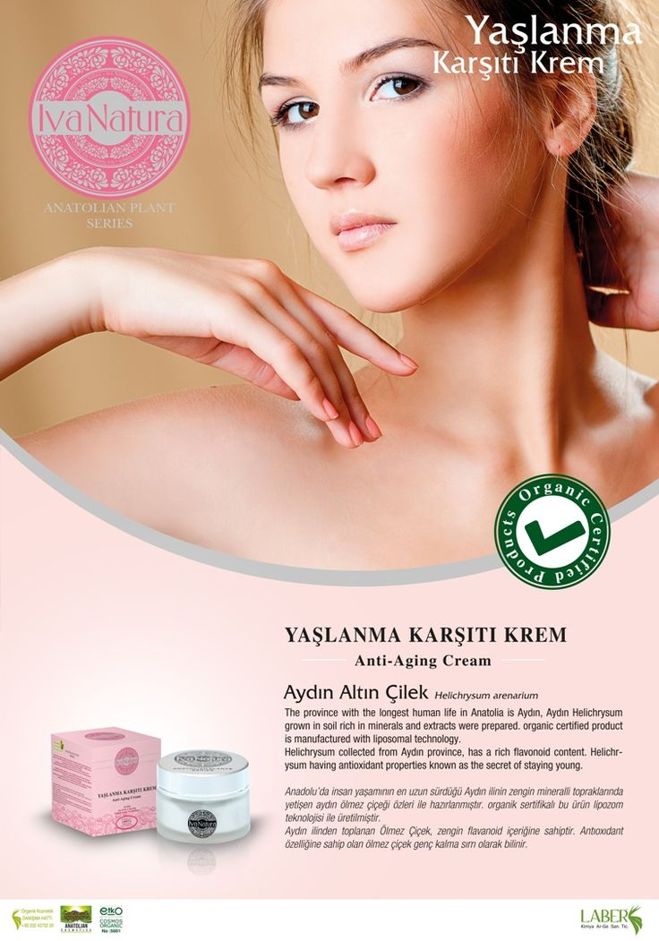 organic anti-aging cream from Aydın