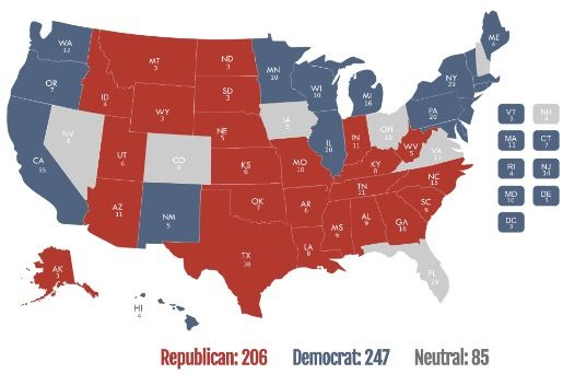 Depressing reminder: The 2016 election will be decided by seven states — and Florida is an absolute must-win posted at 8:01 pm on May 6, 2015 by Allahpundit