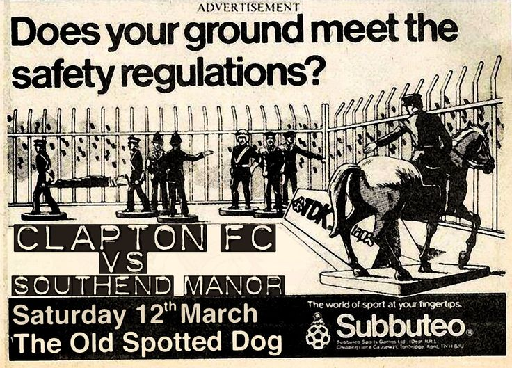 Clapton FC vs Southend Manor