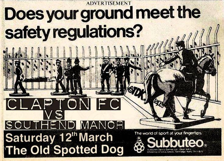 Clapton FC vs Southend Manor