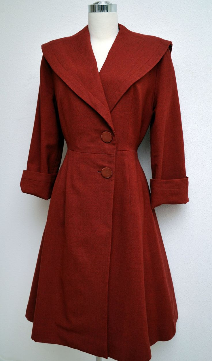 1940's Coat. Love this one...