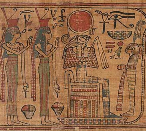 a comparison of the ancient egyptians and the book of genesis Punishments in egypt were generally less harsh in comparison to the rest of   and bible history currid, ancient egypt and the old testament.