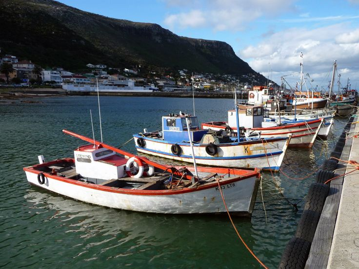 The Best of Cape Town, South Africa, in 10 pictures. Kalk Bay is a picturesque harbour with colorful boats.