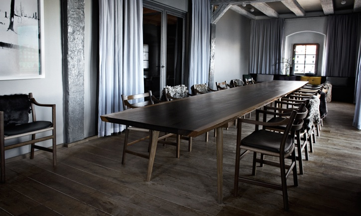 private dining room for restaurant noma work i did with and for