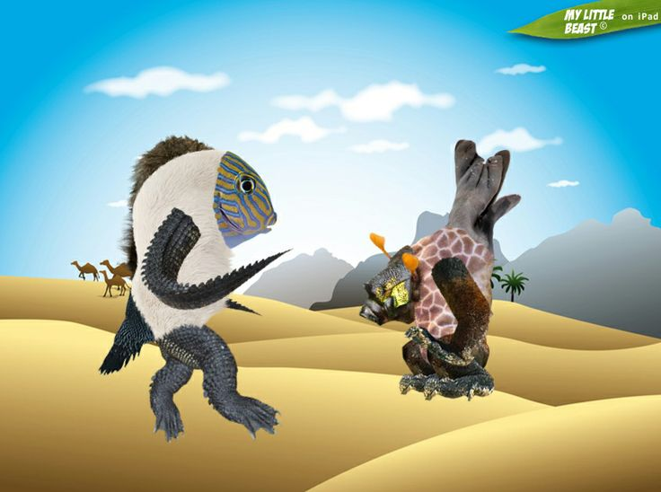 """Hey, Africa is just like Mars! I like it here, pal!""  Created with the awesome My Little Beast app. Download here: LITE: https://itunes.apple.com/app/id824876886 FULL: https://itunes.apple.com/app/id815685056  #games, #ipad, #kids, #animals"