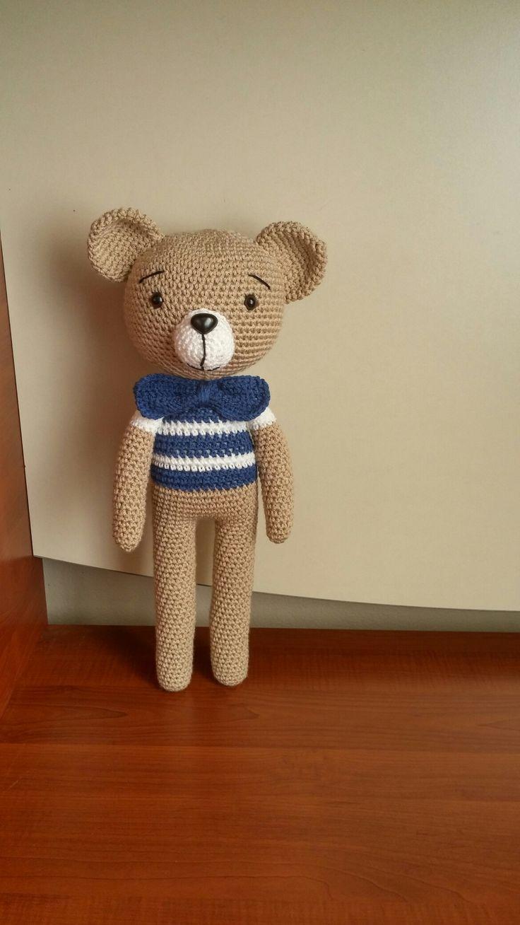 схема вязания свитерка для мишки тедди