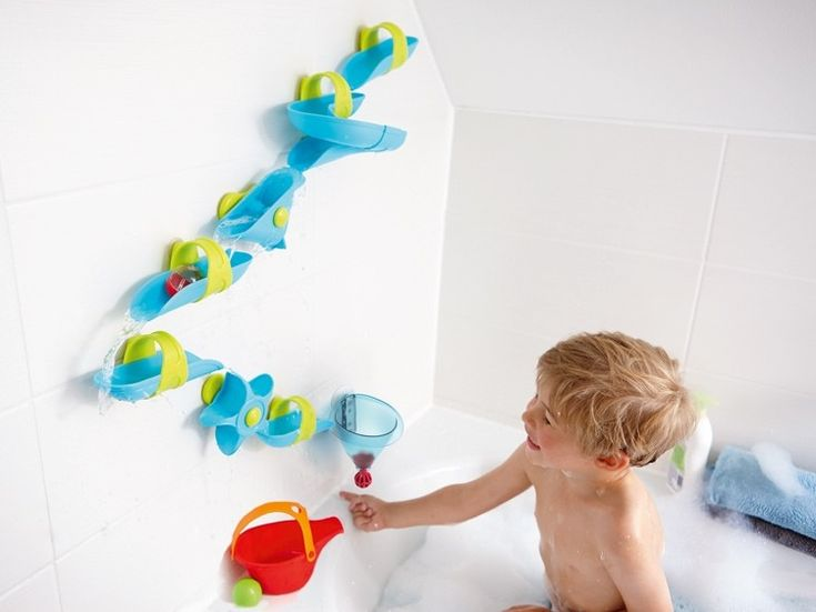 My youngest child adores bath time! I adore toys that captivate and educate! Just like this set! #EntropyWishList #PinToWin Haba - Water and Bath Play Giant Water Maze