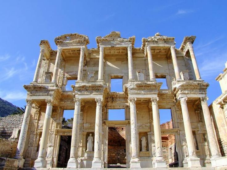 Ephesus and Pamukkale that should not be missed whilst in the Aegean Coastline of Turkey...