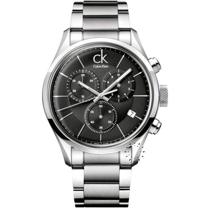 Calvin Klein Masculine Chronograph Stainless Steel Bracelet Η τιμή μας: 331€ http://www.oroloi.gr/product_info.php?products_id=25817