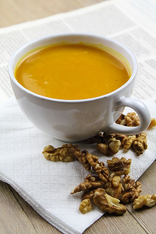 Honey Flavored Butternut Squash Soup