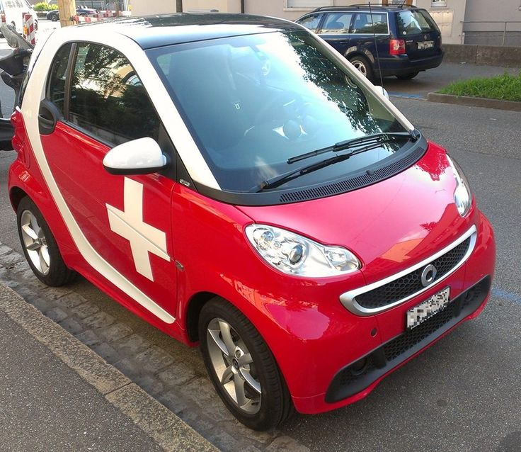 Fun Swiss car! I (smart) you!