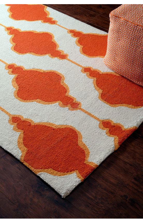 101 Best Images About Orange Area Rugs On Pinterest
