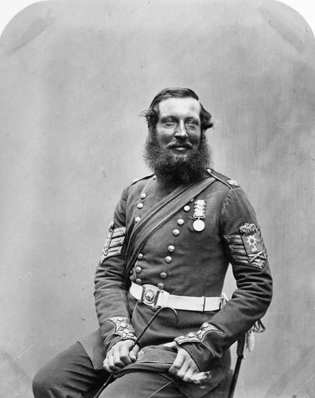 CRIMEAN WAR 1854 - 1856 Colour Sergeant Absolom Durrant, Coldstream Guards.