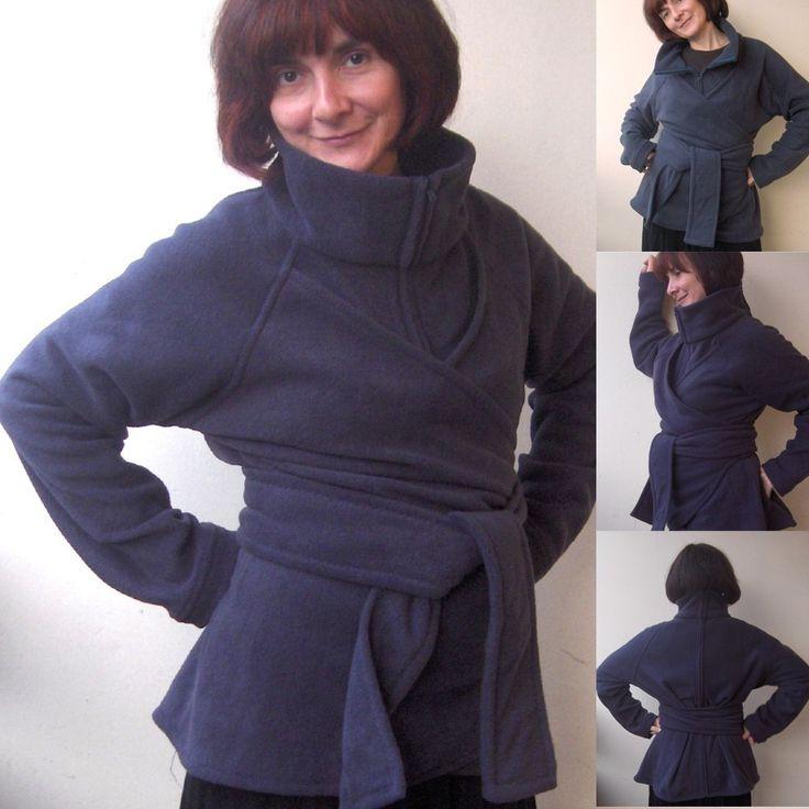 DIY draagjas Babywearing coat