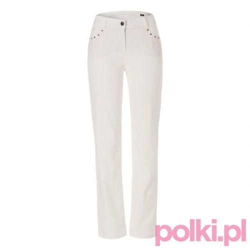Białe dżinsy Olsen #fashion #polkipl #bebeauty #moda #style #trendy #jeans