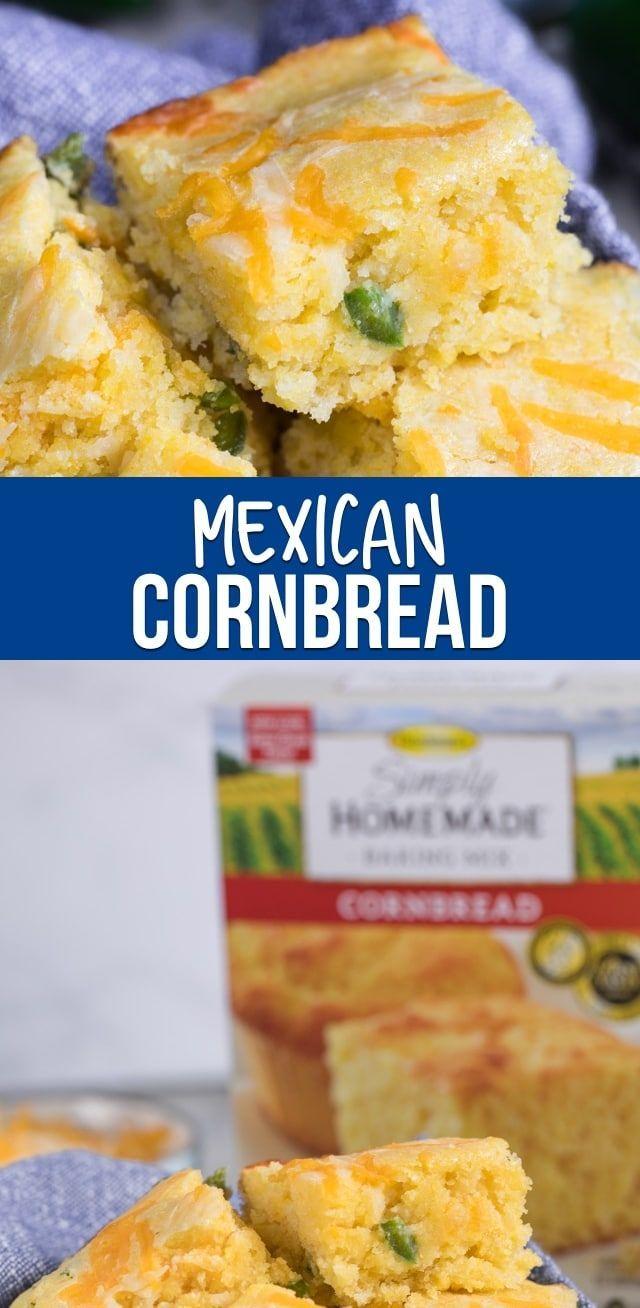 Easy Spicy Cornbread Recipe Crazy For Crust Recipe Mexican Cornbread Easy Mexican Cornbread Corn Bread Recipe