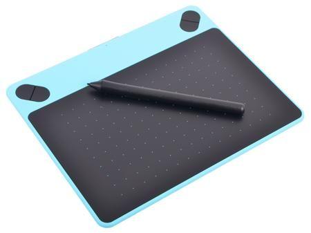 Графический планшет Wacom Intuos Draw Blue Pen S цвет мятно-голубой CTL-490DB-N  — 5090 руб. —