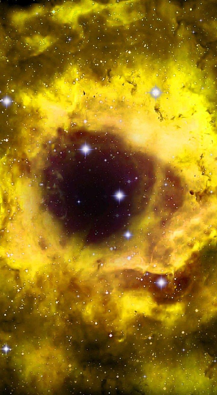 Yellow Eye Galaxy Cute Galaxy Wallpaper Nebula Wallpaper Galaxy Wallpaper