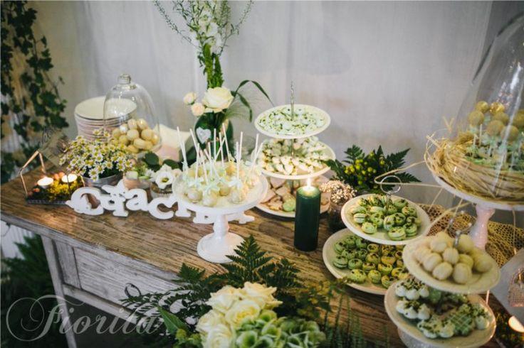 Svatební hostina ve stylu Shabby Chic v restauraci Soho+, Candy Bar