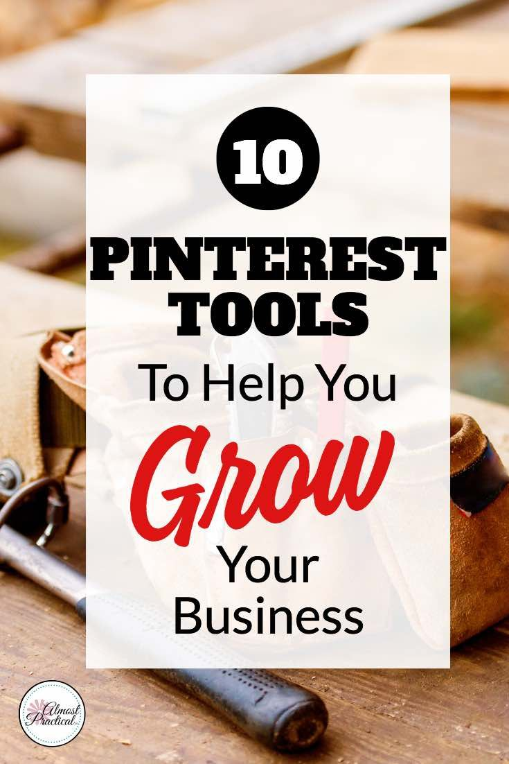 To use Pinterest successfully you need a good collection of Pinterest tools to help you build a strong profile and presence. Tips and ideas for growing your blog traffic with this social media platform. #pinterest #socialmedia via @AlmostPractical